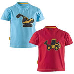 Medium yellow tab kids t shirt