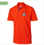 Medium polo shirt orange1