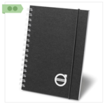 Medium volvo iron mark notebook